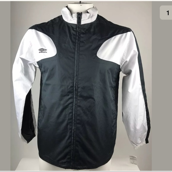 umbro jacket black